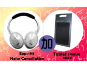 EOps Noisezero H1 Noise Cancellation Headphone with Mic for iPhone