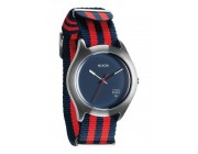 NIXON Quad Navy/Red Nylon