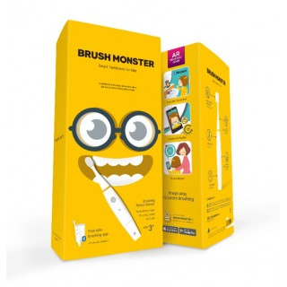 Brush Monster - AR toothbrush for kids
