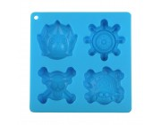 Candies One Piece Ice Tray-Blue