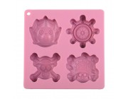 Candies One Piece Ice Tray-Pink