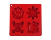 Candies One Piece Ice Tray-Red