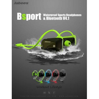 Jabees BSport Bluetooth Sports Headphones  防水掛耳式運動型藍牙耳機