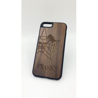 One Piece iPhone 6/6 Plus Wood Case - Franky
