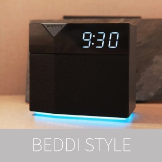 BEDDI STYLE  Intelligent Alarm Clock with Changeable Faceplate